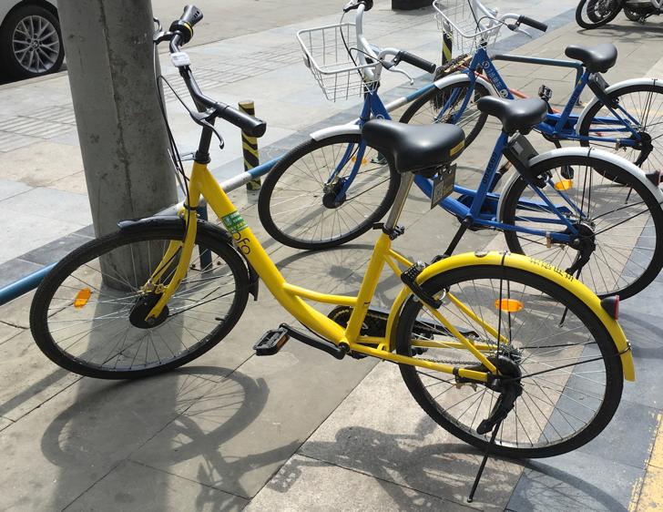 中国の共享单车ofo