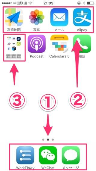 iPhoneアプリの優先順位